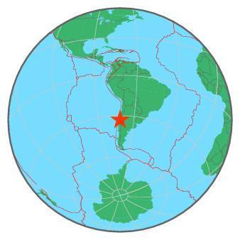 Earthquake - Magnitude 6.9 - OFFSHORE VALPARAISO, CHILE - 2017 April 24, 21:38:27 UTC