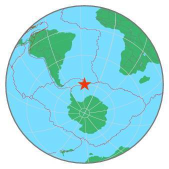 Earthquake - Magnitude 6.6 - SOUTH SANDWICH ISLANDS REGION - 2019 August 27, 23:55:17 UTC