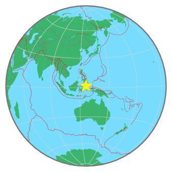 Earthquake - Magnitude 7.1 - MOLUCCA SEA - 2019 November 14, 16:17:42 UTC